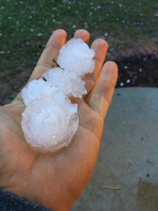 Hail in the Metro-East
